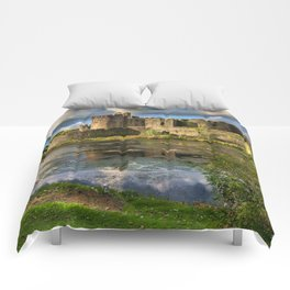 Caerphilly Castle Moat Comforters