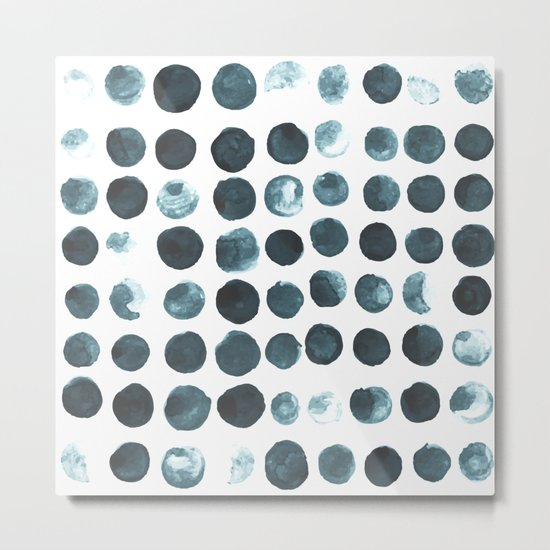 Faded dots Metal Print