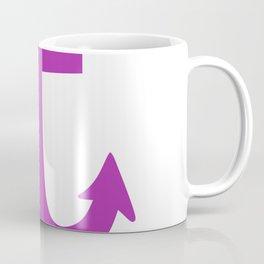 Anchor (Purple & White) Coffee Mug