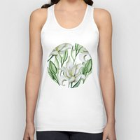lily Tank Tops featuring Lily by Julia Badeeva