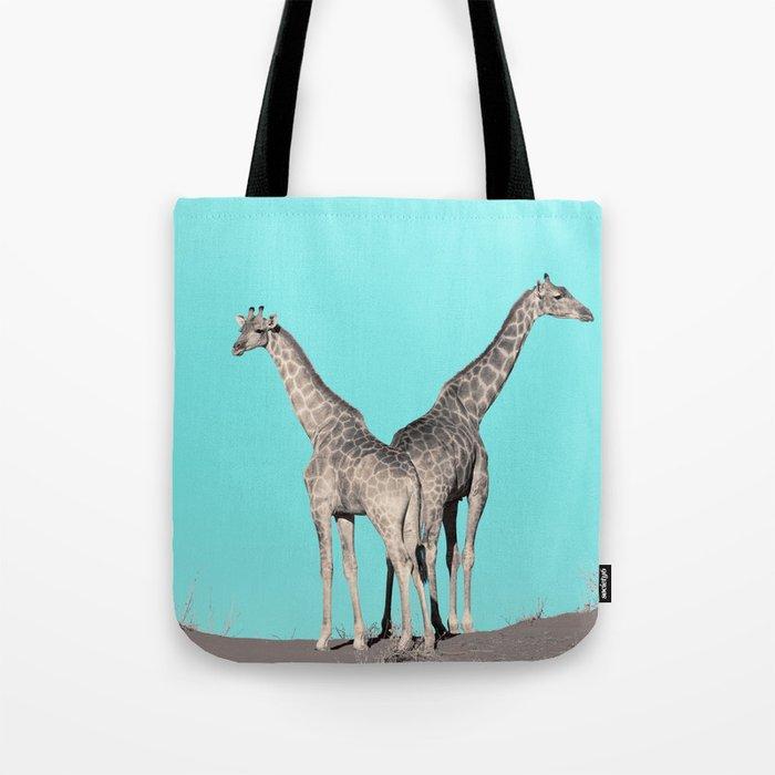 Extravagant giraffes Tote Bag