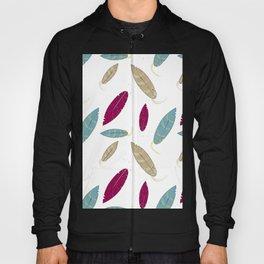minimalist Feather Hoody