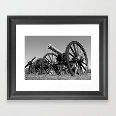 Cannon Framed Art Print