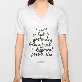 Different person Unisex V-Neck