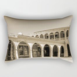 Barstow Train Depot Rectangular Pillow
