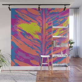 leafy coral Wall Mural
