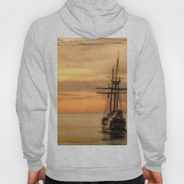 Sailing ship Hoody