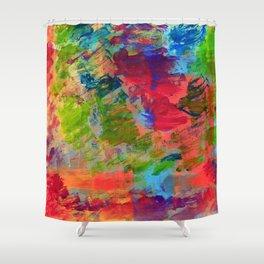 Watercolor Tropics - Islander Shower Curtain