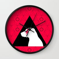 lab Wall Clocks featuring Fabulous Lab by Ales
