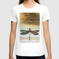 dragonfly T-shirts featuring DRAGONFLY  by Pia Schneider [atelier COLOUR-VISION]