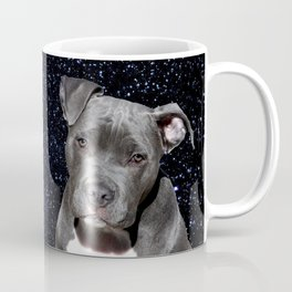 Pitbull Terrier and Moon Coffee Mug