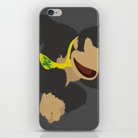 donkey kong iPhone & iPod Skins featuring Donkey Kong(Smash)Black by ejgomez