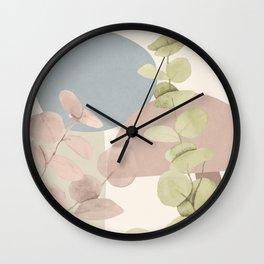 Elegant Shapes 17 Wall Clock
