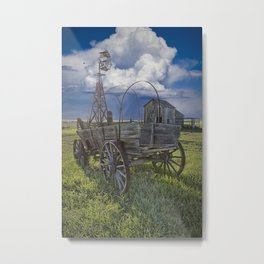 Frontier Farm No 235 Metal Print