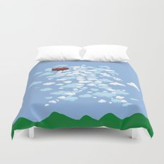 QB Formation Duvet Cover