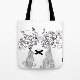 eyes tell the story Tote Bag
