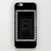 noir iPhone & iPod Skins featuring Noir by My own little world