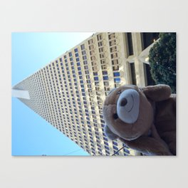 Transamerican Bear Canvas Print