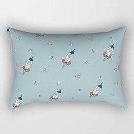 Space cartoon pattern Rectangular Pillow