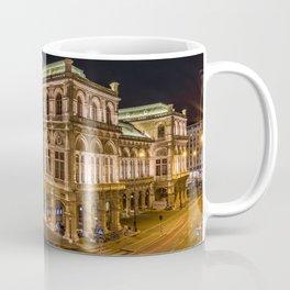 Staatsoper Vienna City Landscape Coffee Mug