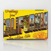 california iPad Cases featuring California.  by JessicaSzymanski
