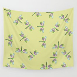 Dragonfly Frenzy Wall Tapestry