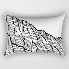 Rock lines Rectangular Pillow
