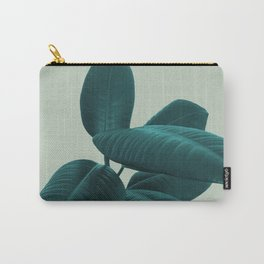 Ficus Elastica #8 #GreenLily #decor #art #society6 Carry-All Pouch