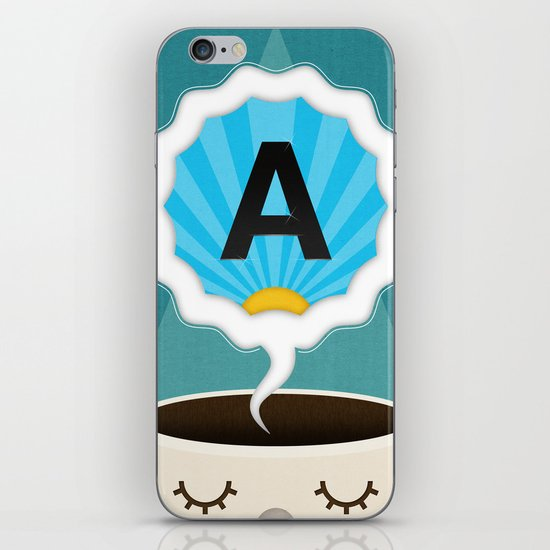 Dreamigners   Typography iPhone & iPod Skin