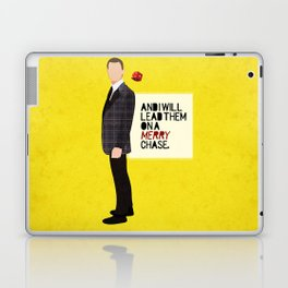 """""""And I will lead them on a merry chase."""" Laptop & iPad Skin"""