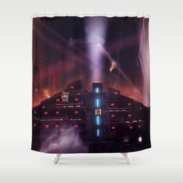 Andover Esate, Blade Runner Style Shower Curtain