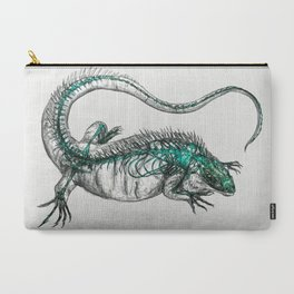 Cayman/Blue Iguana Carry-All Pouch