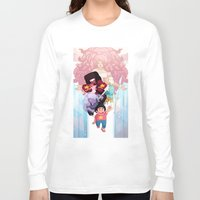 steven universe Long Sleeve T-shirts featuring Steven by clayscence