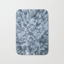 Snow white Bath Mat