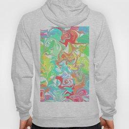 Colorful melt Hoody