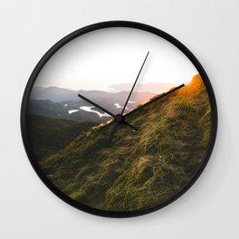 Kahpahlim Rock Sunrise Wall Clock