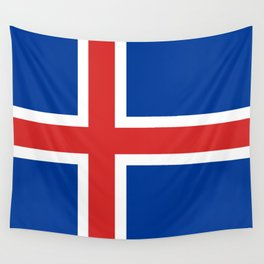 Flag: Iceland Wall Tapestry