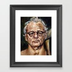 Bill Murray / Walt Bishop - Moonrise Kingdom Framed Art Print