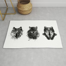 The Wolfpack Rug