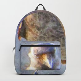 Jackdaw Watercolor Backpack