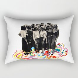 We are all cool though! Rectangular Pillow