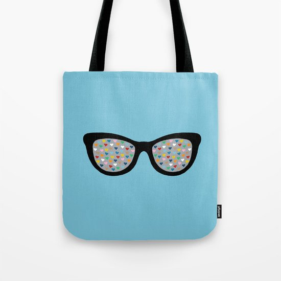 Heart Eyes Tote Bag