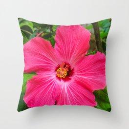 Mia's flower Throw Pillow