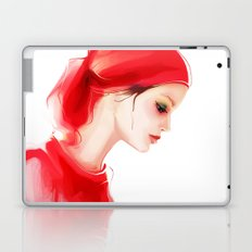 lady in  red Laptop & iPad Skin