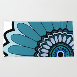 Flower 08 Beach Towel