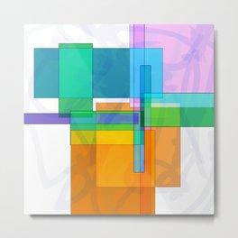 Squares combined no. 8 Metal Print
