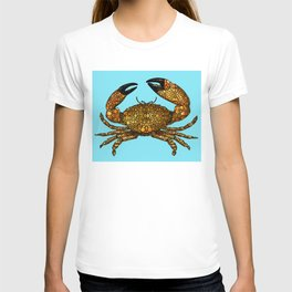 Stone Rock'd Stone Crab By Sharon Cummings T-shirt