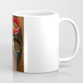 Black or Red Spin to Win Coffee Mug