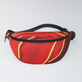 Neon Tongue Fanny Pack