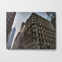 NYC - Lower Manhattan 002 Metal Print